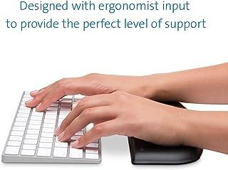 Kensington ErgoSoft Wrist Rest for Slim, Compact Keyboards, Black (K52801WW) Black Keyboard Wrist Rest