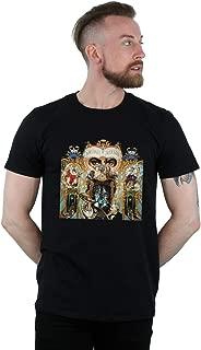 Michael Jackson Men's Dangerous Album Cover T-Shirt
