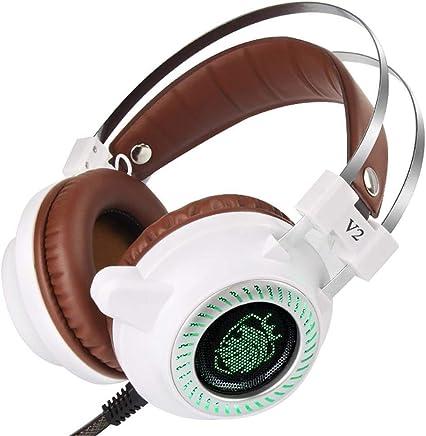 Auricolari Gaming Auricolari Gaming Auricolari Stereo V2 Con Microfono Per PC (Color : White) - Trova i prezzi più bassi