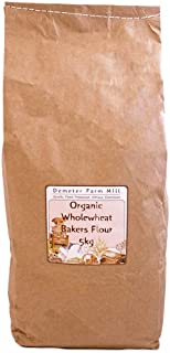 Demeter Farm Mill Organic Wholewheat Bakers Flour, 5kg
