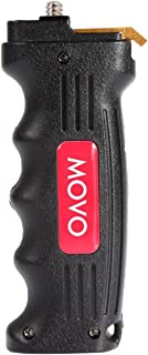 Movo Pistol Hand Grip Video Stabilizer Handle with Quick Release Plate for DSLR and Mirrorless Cameras - Universal .25