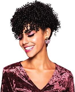 EVE HAIR Casablanca - 100% Heat Retardant Fiber 2 in 1 Bang & Ponytail - Bang Hair Extension with 9
