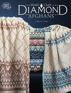 Monk's Cloth Diamond Afghans