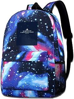 XNTWJMV Galaxy - Bolsa de hombro estampada para hombres viejos, con líneas de apertura, estilo informal, para niños y niñas