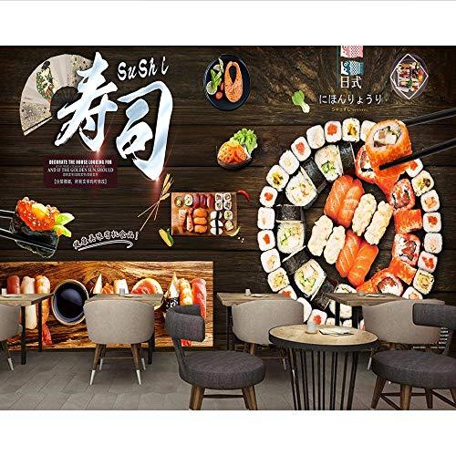 Pmhc Japanse sushi-restaurant dining muur Japanse sushi-restaurant 3D fotobehang goedkoop wandschilderij 200X140cm