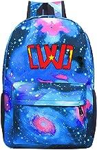 Unisex Child Starry Sky Schoolbags Bookbag Chad Wild Clay Backbag for Girls Boys Blue