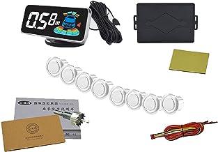 $59 » N\C Car Parking Sensor Kit Rear Reverse Backup Radar System 8 Sensors with Display Backup Reversing Sensors Universal Auto...