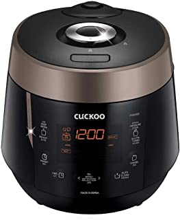 Cuckoo CRP-P0609S Rice Cooker, 10.10 x 11.60 x 14.20, Black