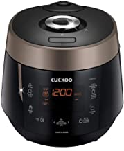 Cuckoo CRP-P0609S 6 cup Electric Heating Pressure Rice Cooker & Warmer – 12..