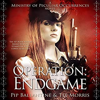 Operation: Endgame audiobook cover art