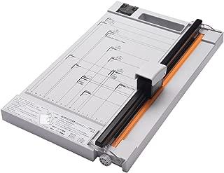 リヒトラブ 裁断機 スライドカッター A4対応 直線刃10枚裁断 ミシン刃3枚裁断 M30