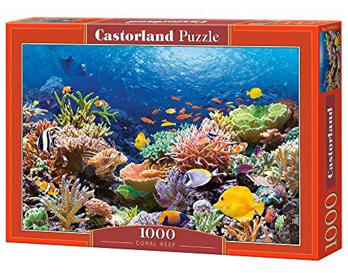 Castor 101511 - Pesci nella barriera corallina - Puzzle 1000 Pezzi
