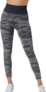 BeGood - Leggings Sport Militare Camouflage Snellente Donna. Tonifica, Drena, Idrata, Combatte la Anticellulite mentre lo ...