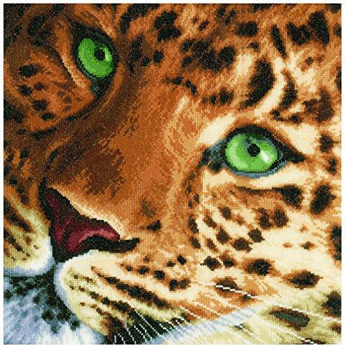 Lanarte Aida - Lienzo para Cuadro de Punto de Cruz, diseño de Leopardo