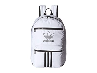adidas Originals Originals National 3-Stripes Backpack (White) Backpack Bags
