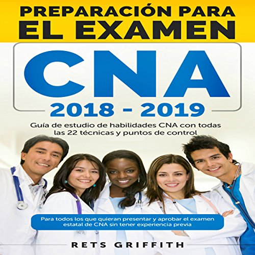 CNA Preparación para el examen [CNA Preparation for the exam] audiobook cover art