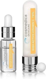 Cosmedica Intensive Vitamin C Serum, 79% Pure L-Ascorbic Acid, 2 Count