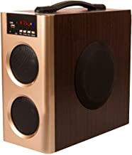 Flow Muzic Wave Boom Box Mini Tower Speaker with Built in FM USB Bluetooth and AUX Feature`(Black)