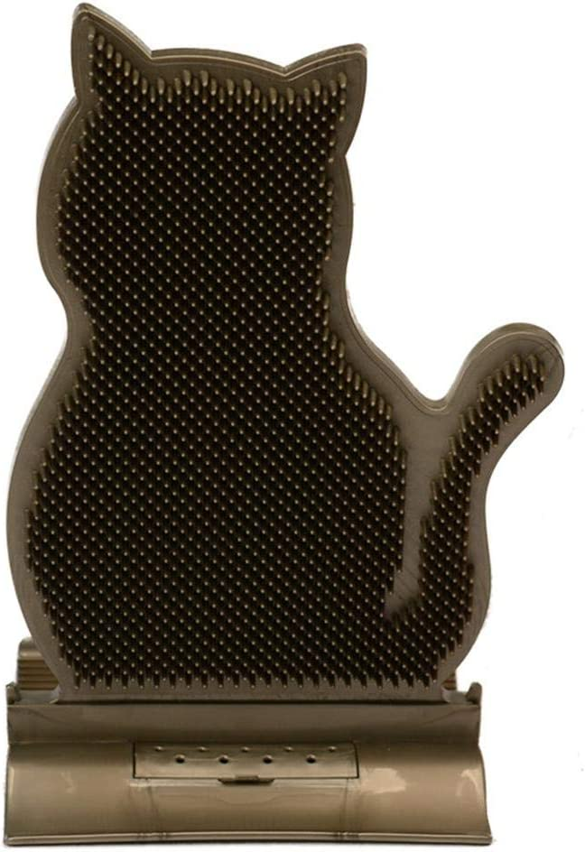 Lorchwise Cat Self Groomer Wall 2021 spring and summer new Massage Comb Super special price Grooming Corner Bru