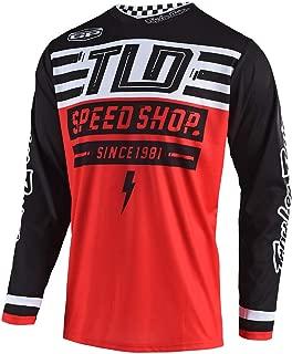 Troy Lee Designs Mens Off Road Motocross GP Air Jersey Bolt (Red, Medium)