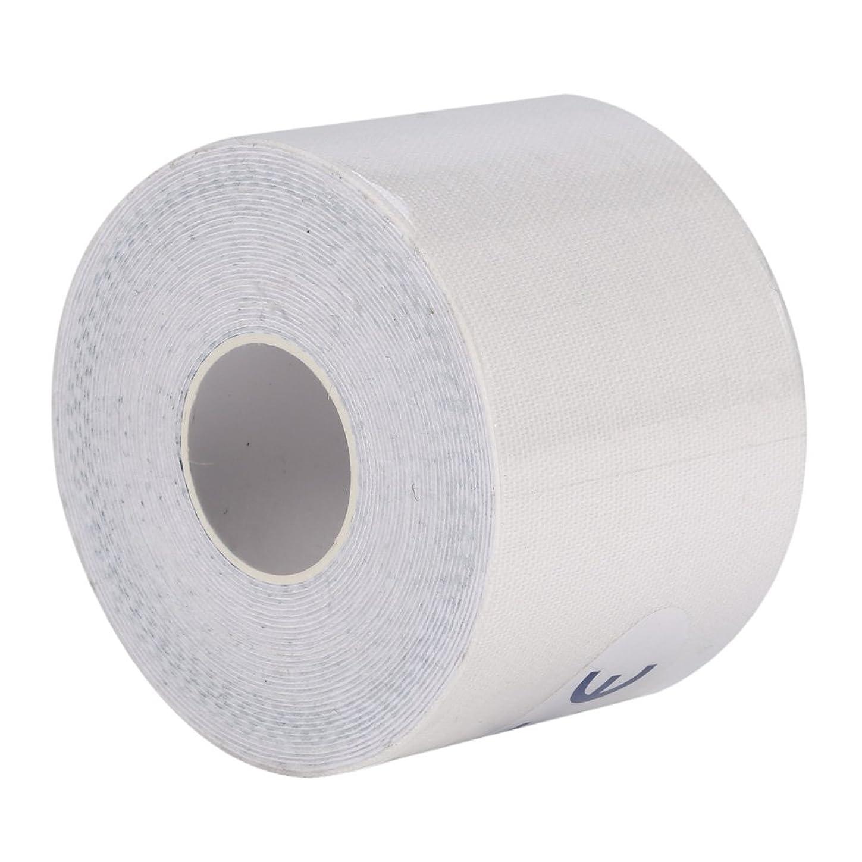 その他教室有効化マッスルテープ、マッスルテープロール弾性接着剤スポーツ痛みケア健康綿包帯傷害サポート(5cm*5m)