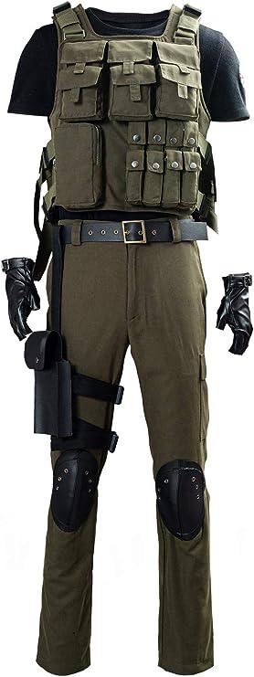 Disfraz de Carlos Oliveira para hombre, traje de cosplay ...