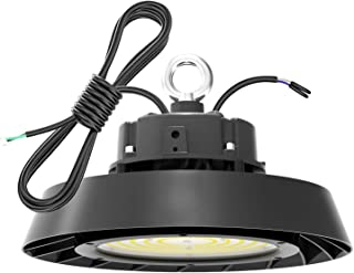 Eucens UFO LED High Bay Light 200W 28,000lm 5000K Daylight 750W HPS/MH Equivalent with 5' Power Cord high Bay Light Daylig...