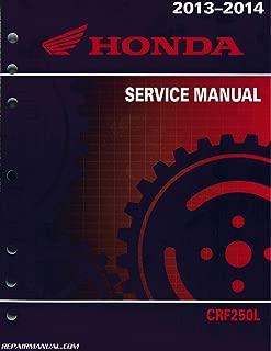 61KZZ02 CRF250L Honda Motorcycle Service Manual 2013-2015