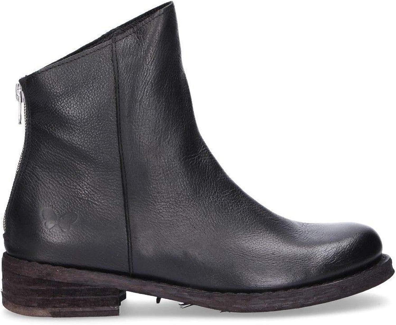 Felmini Luxury Fashion Damen FEA580schwarz Schwarz Stiefeletten   Jahreszeit Permanent