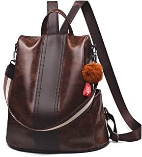 Women Backpack Purse Anti Theft Waterproof Detachable Covertible Casual Travel Shoulder Bag