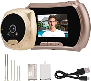Digital Peephole, Peephole Camera, Door Peephole Viewer HD 2.8 Inch Screen Color + Night Vision Function + 135 ° Viewing Angle, Electronic Peephole Cat's Eye for Home/Hotel
