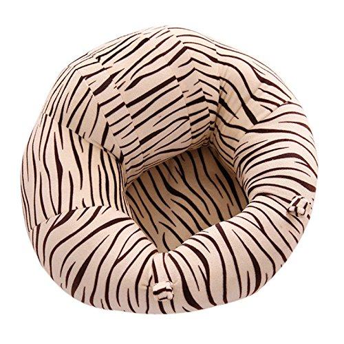 SMARTRICH - Poltrona a forma di U, per bambini da 0 a 6 mesi, sicura, Rivestimento: peluche, imbottitura: cotone PP., 2#, 43x43x20cm
