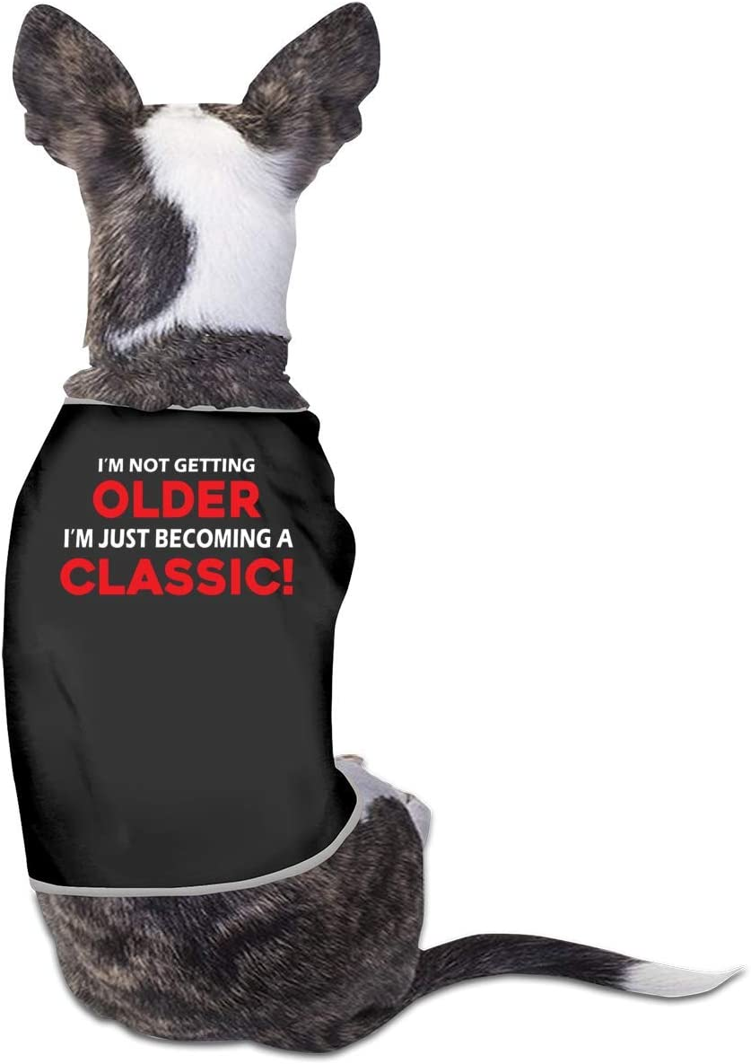 pengyong Max 43% OFF Black Pet Clothing I Do Want T What Printed Milwaukee Mall Shirts