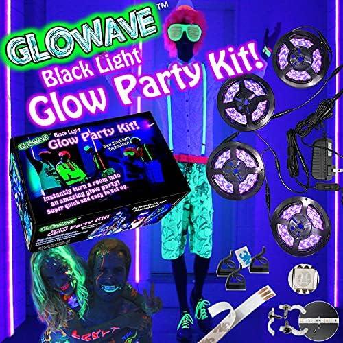 Black neon lights