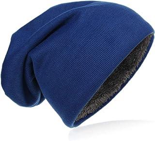 Miobo - Berretto caldo per l'inverno in morbida pelliccia interna