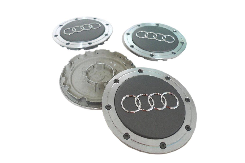 Audi A4 A6 A8 S4 S6 S8 rueda centro tapacubos tapas 4b0601165 a 4B0 601 165 A (Juego de 4 piezas): Amazon.es: Coche y moto