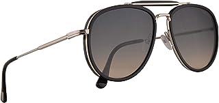 41cc7c015d Tom Ford FT0666 Tripp Sunglasses Glossy Black w Smoke Gradient 58mm Lens  01B FT666 TF