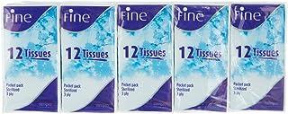 Fine Set Of 10 Pocket Packs Sterilized Tissues, 12 Sheets - 3 Ply