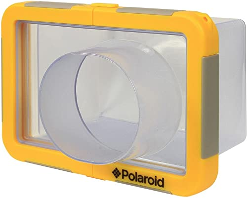 Polaroid Dive-Rated Large Waterproof Camera Housing for The Sony Cybershot RX100, HX30V, HX20V, HX10V, HX9V, HX7V, HX5, HX50V, H55, H70, H90 Digital Camera