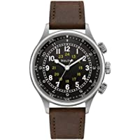 Bulova A-15 Pilot Automatic Leather Men's Watch (96A245)