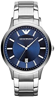 Emporio Armani Gents Wrist Watch, Silver AR11180