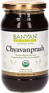 Banyan Botanicals Organic Chyavanprash (Chyawanprash) – Ayurvedic Herbal Jam with Amla & Ashwagandha – For ...