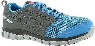 Reebok Work Mens Sublite Cushion Work Work/Duty Athletic & Sneakers Blue