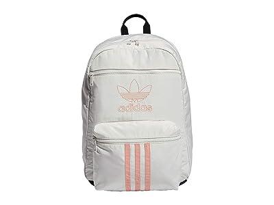 adidas Originals Originals National 3-Stripes Backpack (Orbit Grey/Trace Pink) Backpack Bags