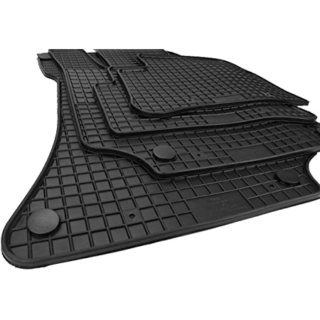 Kfzpremiumteile24 Gummimatten Kompatibel Mit E Klasse W212 S212 Cls X218 Shooting Brake Fußmatten Schwarz 4 Teilig Auto