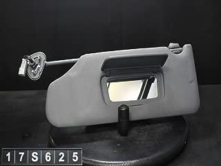 OEMUSEDAUTOPARTS1.COM 04 05 06 07 Acura TL Driver Sun Visor SUNVISOR Shade Dark Gray 17S625