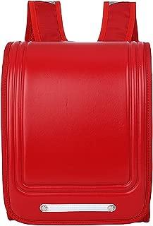 Randoseru Satchel Backpack A4 Clear File Fits Japanese School Bag with Rain Cover Green