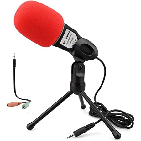 Amazon.com: Blue Condenser Recording Microphone 3.5mm Plug and Play PC Microphone, Broadcast Microphone for Computer Desktop Laptop MAC Windows Online Chatting Podcast Skype YouTube Game?Blue : Everything Else