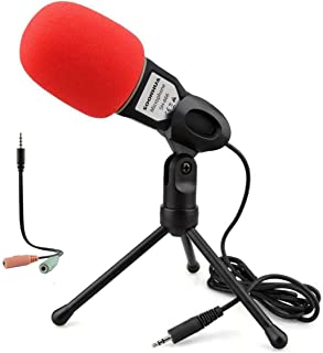 Iukus Pc Microphone With Mic Stand