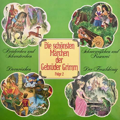 Brüderchen und Schwesterchen / Schneeweißchen und Rosenrot / Dornröschen / Der Froschkönig cover art